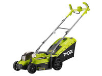 Ryobi 18v Battery Lawnmower OLM1833H One+ - Boxed - used thrice - Brilliant