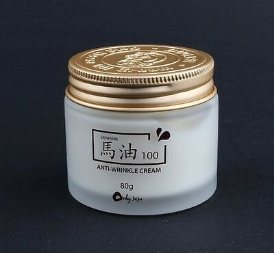 Off-Price Skinfarm Jeju Island Horse Oil 100 Cream 80g Anti Wrinkle Cream