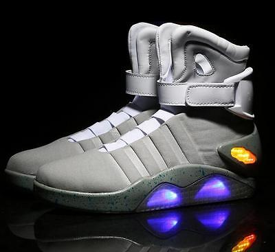 tiefel Back To The Future Light LED Shoes Cosplay Kostm (Marty Mcfly Cosplay)