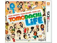 WANTED: Tomodachi Life Game 3DS