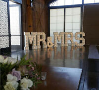 Marquee Letters, Balloon Decor and Flower Wall Backdrops Mississ