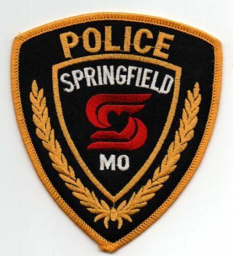 MISSOURI MO SPRINGFIELD POLICE NICE PATCH SHERIFF