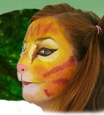 Kitten Nose Halloween (Halloween Stage Theatrical Costume Latex Prosthetic Face Nose Cat Kitty)