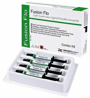 Fusion Flo Universal Nano Flowable Composite 4x2gm Kit Prevest Dental