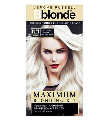 Bblonde MAXIMUM Blonding Kit Permanent Lightener LIGHT - Dark Brown