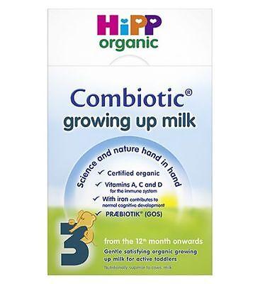 Grow Milk Powder (HiPP Organic Combiotic Growing Up Milk Powder 600g x 2 Pack )