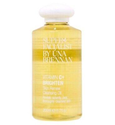 Super Facialist By Una Brennan Vitamin C Brighten Skin Renew Cleansing Oil