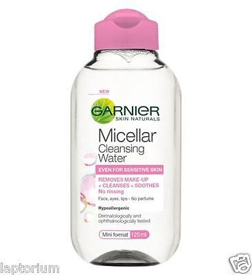 Garnier Skin Naturals Micellar Cleansing Water 125ml Cleanses & Removes Makeup