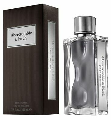 A&F FIRST INSTINCT * Abercrombie & Fitch 3.4 oz / 100 ml EDT Men Cologne Spray