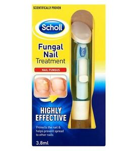 SCHOLL Fungal Nail Treatment  3.8ml HIGHLY EFFECTIVE KILL FUNGUS 99.9% TOP