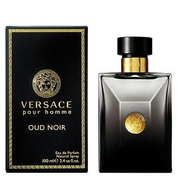 Versace Oud Noir Pour Homme 100ml EDP New Retail Sealed