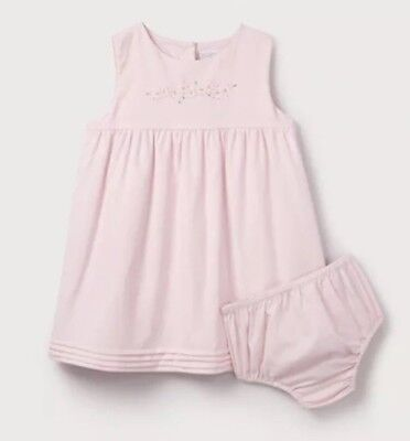 Daisy Chain Embroidered Dress size 6-9 Months BOX20 ()