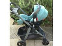 Grace Sky COMPLETE TRAVEL SYSTEM Inc car base and boxes