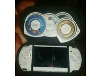 PSP (portable psp with games)