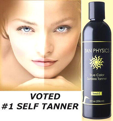 Tan Physics True Color Rated 1 Sunless Tanner Tanning Lotion