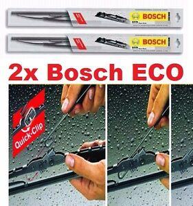 2x Scheibenwischer HYUNDAI i10  ( ab 2007 -  ) - 400 / 550 mm BOSCH ECO- Set