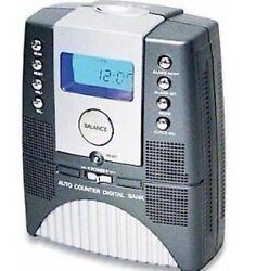 Digital Coin Bank Alarm Clock Radio Diggi-Bank Large