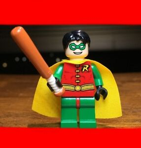 LEGO BATMAN 1ST EDITION ROBIN GENUINE AUTHENTIC MINIFIGURE SET 7785 SCUBA JET