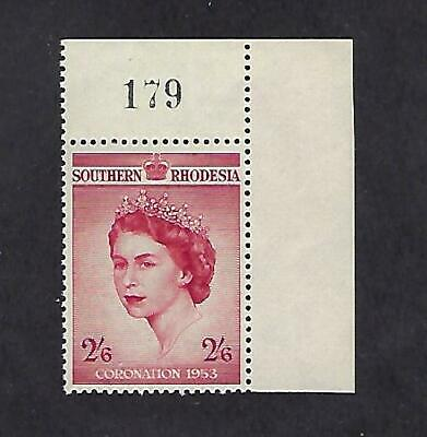 So Rhodesia #80 Mint/NH Queen Elizabeth II Coronation Issue B8259