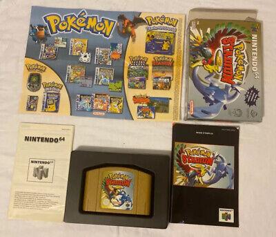 Pokemon Stadium 2 Nintendo 64 - Version Française - Complet TBE