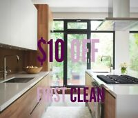 FLAWLESS QUALITY - $10 OFF FIRST CLEAN