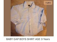 BABY GAP BOYS SHIRT age 3 Years