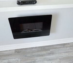 Greenway Wall Mount Fireplace - Great Condition