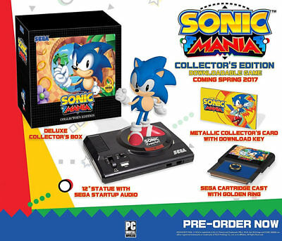 Sonic Mania  Collectors Edition Ps4 New Playstation 4  Playstation 4