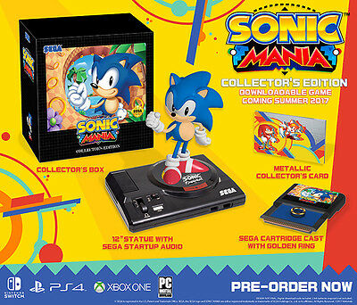 Sonic Mania  Collectors Edition  Xbox One  2017  Brand New