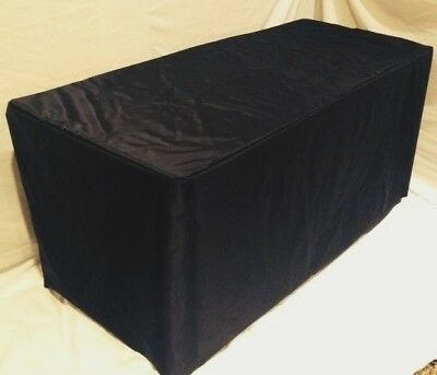 8 Ft. Fitted Table Cover Waterproof Table Cover Patio Outdoor Indoor Trade Show