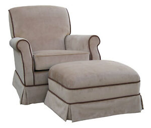 Upholstered Glider
