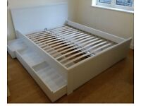 Double bed Ikea Brusali