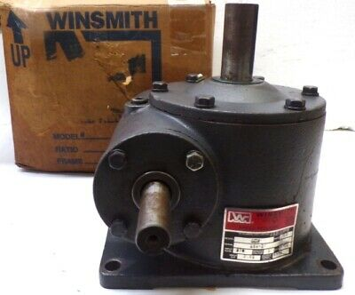 Winsmith Speed Reducer 5cv 601 Ratio 1478 In-lb 1750 Rpm 870 Input Rpm