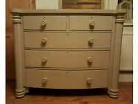 Large Victorian chest of drawers ( free local delivery)