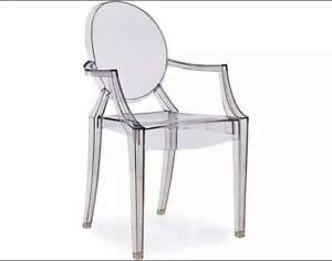 Ghost Arm Chair (4 available $65 each)