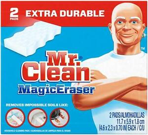 Mr Clean Magic Eraser 2 pack EXTRA DURABLE