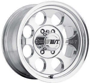 15X8-MICKEY-THOMPSON-CLASSIC-111-POLISHED-ALLOY-MAG-WHEEL-NISSAN-TOYOTA-JEEP