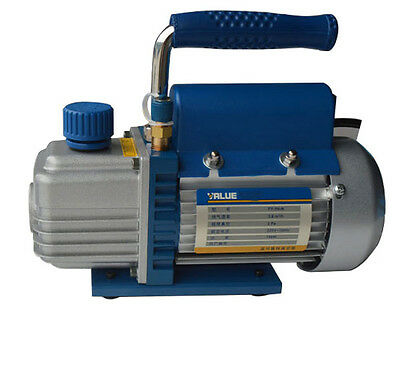 220v50hz 14hp 38 2.5cfm Vacuum Pump 1 Stage Rotary Vane Electric Vacuum Pump