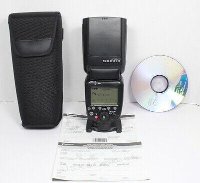 CANON 600EX-RT Flash for EOS Rebel T6i T7i 80D 6D 7D 1Dx 1D 1Ds 5D II III etc