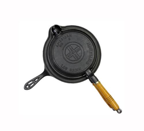 Log Cabin cast iron Waffle maker