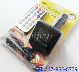 * AUX input, FM Transmitter USB SD Card Slot, Memory Card Slot