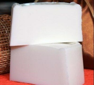25 LB  PURE MELT&POUR GLYCERIN SOAP BASE WHITE ORGANIC SOAP BASE