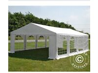 Quality Party Tent Marquee with strong PVC tarpaulin and galvanised steel tubes