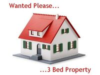 3 Bed Needed Please