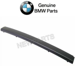NEW BMW E38 740i 750iL 740iL Front Bumper Center Impact Strip Genuine