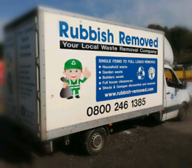 Rubbish Removals Manchester, Liverpool, Warrington, Wigan, St. Helens