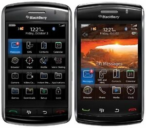 New BlackBerry Storm 9530 Black Unlocked GSM Touch Phone T-Mobile Simple AT&T