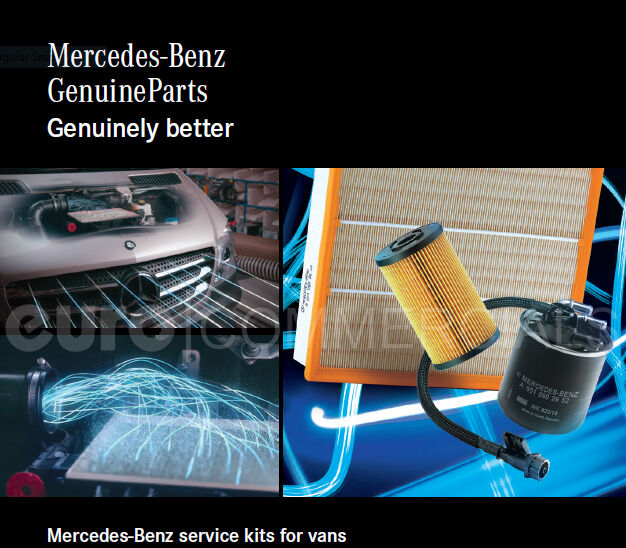 New Genuine Mercedes Sprinter W906 OM651 Service Kit - Oil Air and Fuel Filter