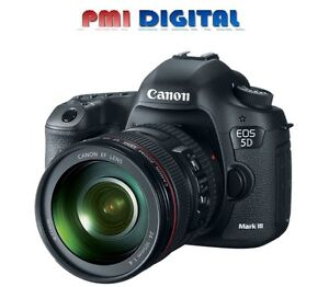 Canon EOS 5D Mark III & Canon 24-105mm 4.0 L IS USM Kit    NEW UPDATED VERSION