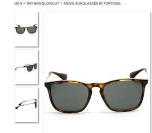 NEW Authentic Ray-Ban Sunglasses - 2 Pairs, $100 ea / $180 both